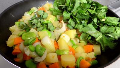 Fèves et légumes à l'oseille - 5.2