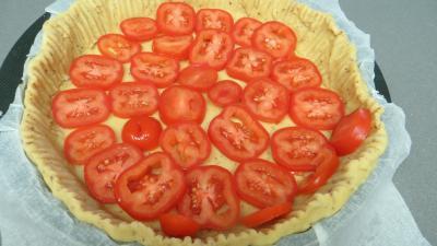 Tarte aux carottes et aux tomates - 2.2