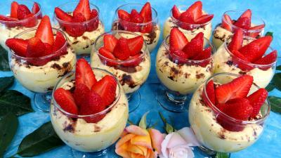 Image : recette Mascarpone ou tiramisu aux fraises