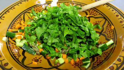 Salade aux blancs de poulet - 6.3