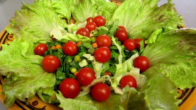 Salade aux blancs de poulet - 7.1