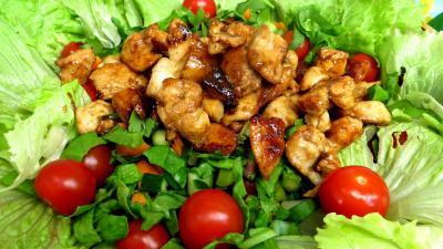 Salade aux blancs de poulet - 9.2