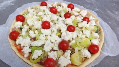 Pizza aux restes de charcuterie - 6.1