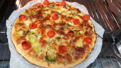 Pizza aux restes de charcuterie - 7.1