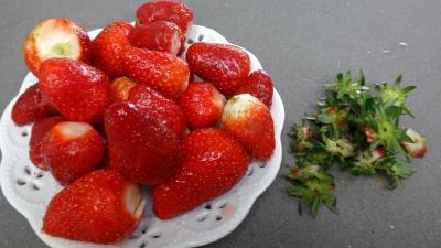 Crêpes aux fraises - 4.2