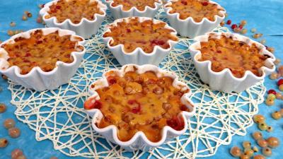 dessert : Timbales de groseilles