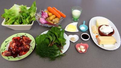 Ingrédients pour la recette : Cassolettes de batavia