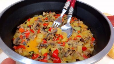 Recette Blanquette de pommes de terre