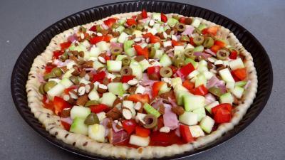 Pizza aux courgettes - 5.1
