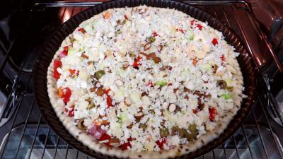 Pizza aux courgettes - 5.3
