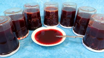 Recette Gelée de mûres et prunes jaunes