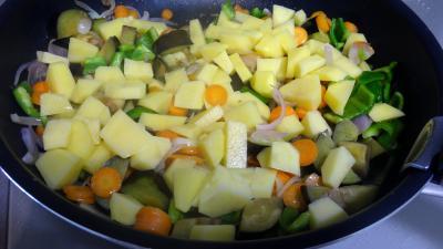 Sauté de potimarron et légumes - 6.3