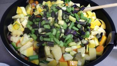 Sauté de potimarron et légumes - 7.1