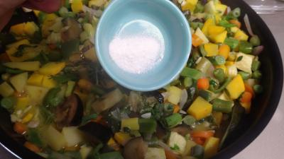Sauté de potimarron et légumes - 7.3
