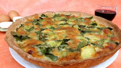 Légumes : Clafoutis de blettes