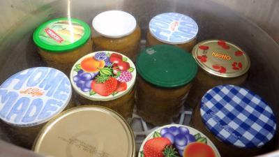 Compote de mirabelles à la rhubarbe - 5.2