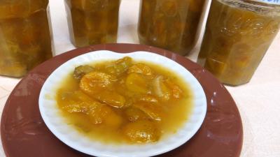 Recette Compote de mirabelles à la rhubarbe