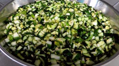 Confiture de concombre à la verveine - 2.3