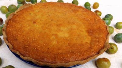 Desserts : Tarte aux reine-claude