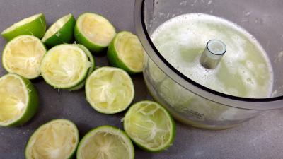 Confiture de reines-claudes aux citrons verts - 1.2