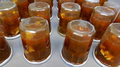 Confiture de reines-claudes aux citrons verts - 6.2
