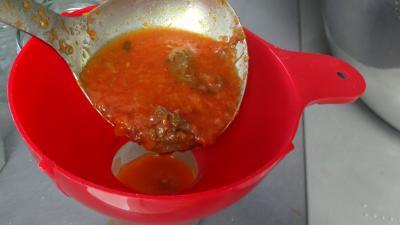 Sauce tomates aux coeurs de canard - 7.2