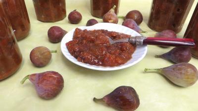 Les grands classiques : Coupelle de chutney de figues aux cacahuètes