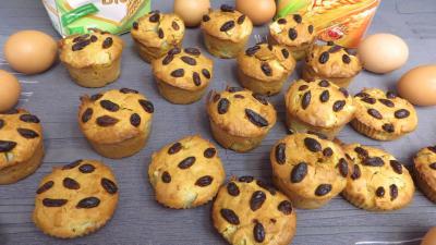 muffins : Muffins aux poires