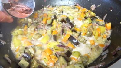 Polenta aux légumes - 7.4