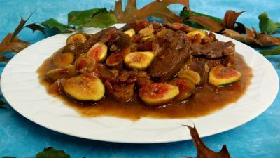 Image : Sauté de canard aux figues