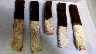 Barres sablées au chocolat - 6.1