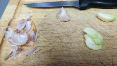 Poêlée de girolles au couscous - 1.1