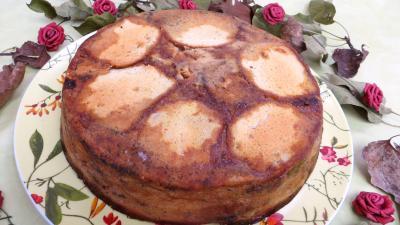 Desserts : Assiette de pudding aux physalis