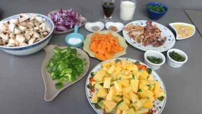 Panaché de légumes au confit de canard - 3.3