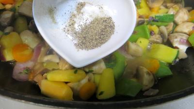 Panaché de légumes au confit de canard - 6.3