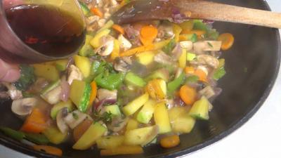 Panaché de légumes au confit de canard - 7.1