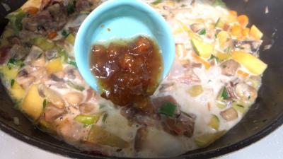 Panaché de légumes au confit de canard - 8.1