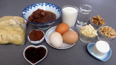 Ingrédients pour la recette : Tarte aux châtaignes
