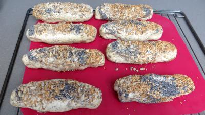 Petits pains aux graines - 5.4