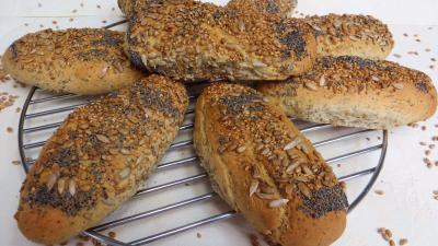 Recette Petits pains aux graines