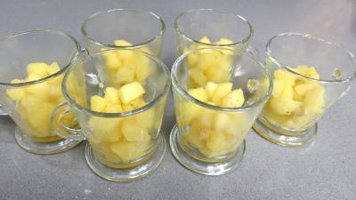 Pommes crémées à la stévia pour diabétiques - 4.2