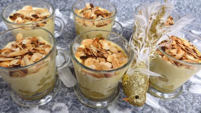 marsala : Verrines de pommes crémées à la stévia pour diabétiques