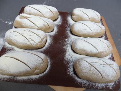 Petits pains rustiques aux farines - 6.1