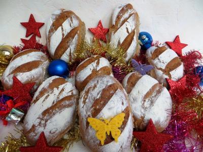 Recette Petits pains rustiques aux farines