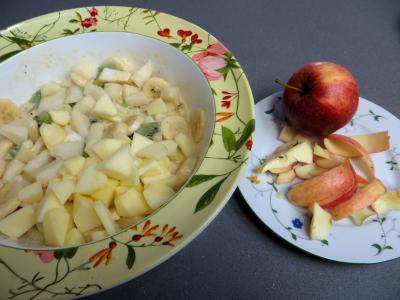 Salade de fruits à la stévia pour diabétiques - 4.2
