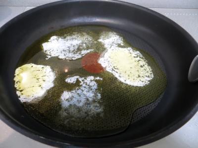 Tarte aux crevettes et chou romanesco - 2.1