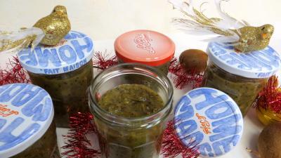 kiwi : Bocaux de compote de kiwis pour diabétiques