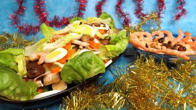 Légumes : Blettes vapeur aux crevettes