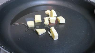 Omelette plate au poulet et cèpes - 2.3