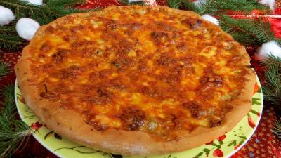 Image : Pizza à l'agneau